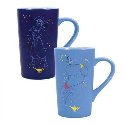 Aladdin hőre változó latte bögre - Aladdin & Genie (Dzsin)