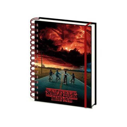 Stranger Things 3D borítós spirálfüzet, A5