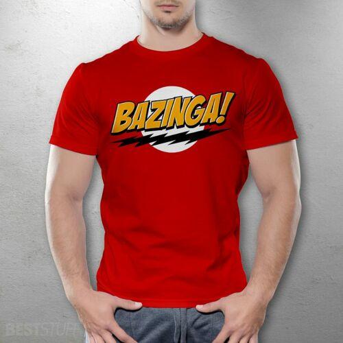 Agymenők Bazinga férfi póló