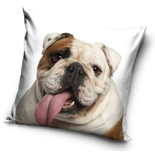 Angol bulldog kutyás párnahuzat